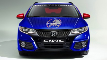 Honda Civic Tourer Guinness Record