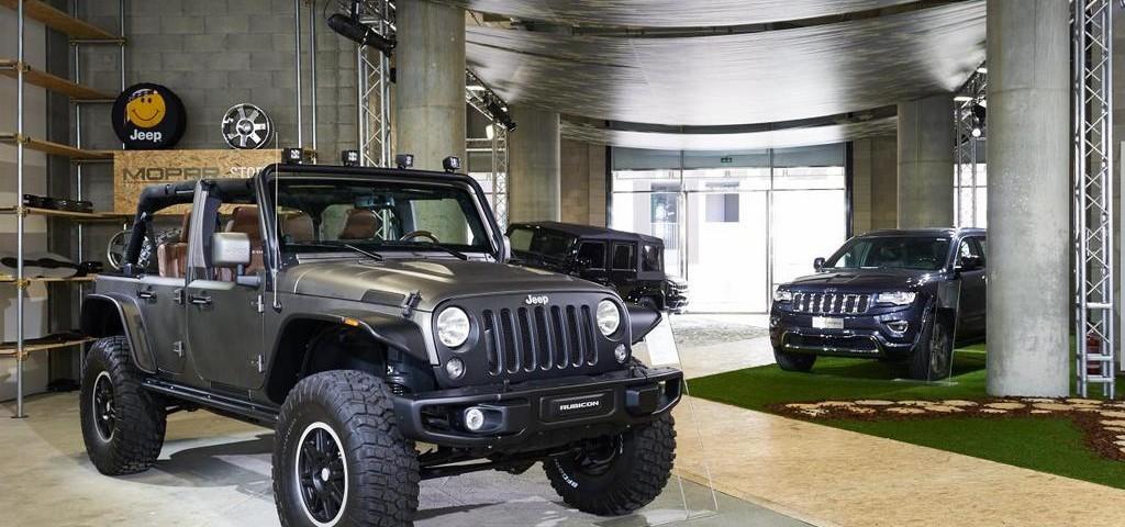 Jeep Temporary Store Milano