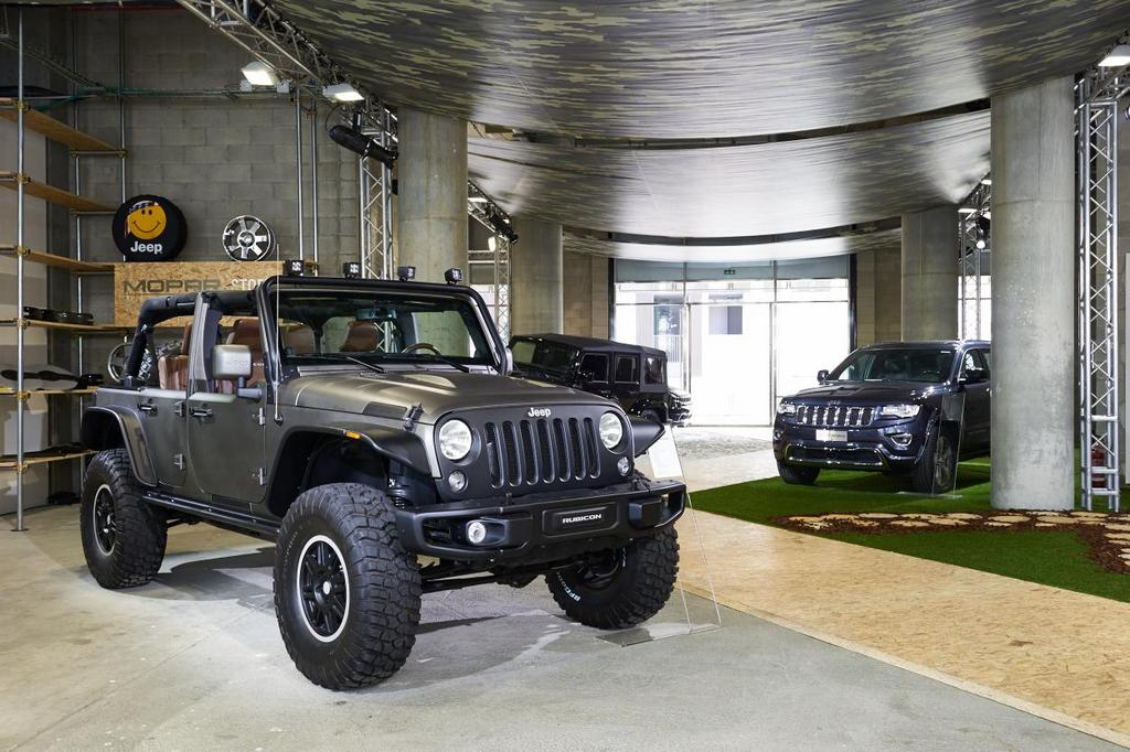 Jeep Temporary Store Milano