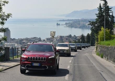 Jeep Cherokee Montreux Jazz Festival Carovana