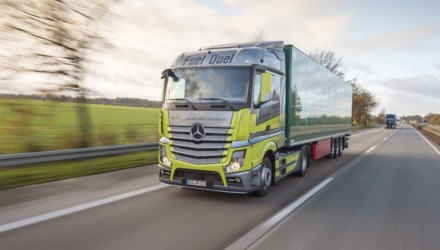 Mercedes Benz Actros Fuel Duel