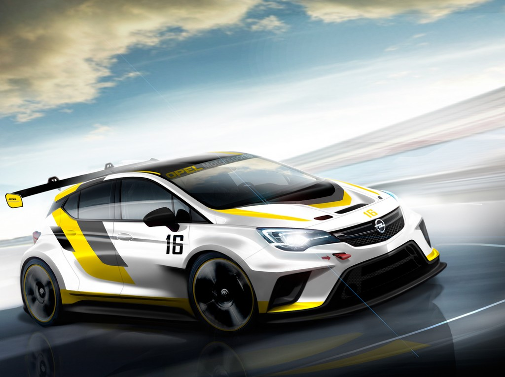 Opel Astra TCR Sketch