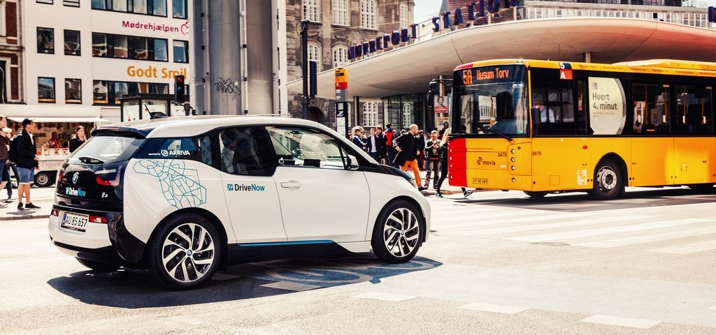 BMW i3 Drive Now Copenhagen