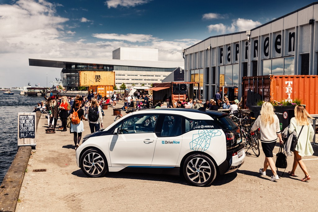 BMW i3 Drive Now Copenhagen Tre Quarti