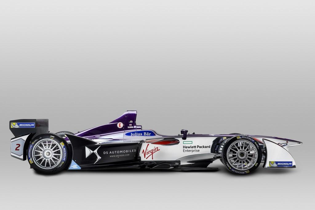 Formula E DS Virgin Racing Lato