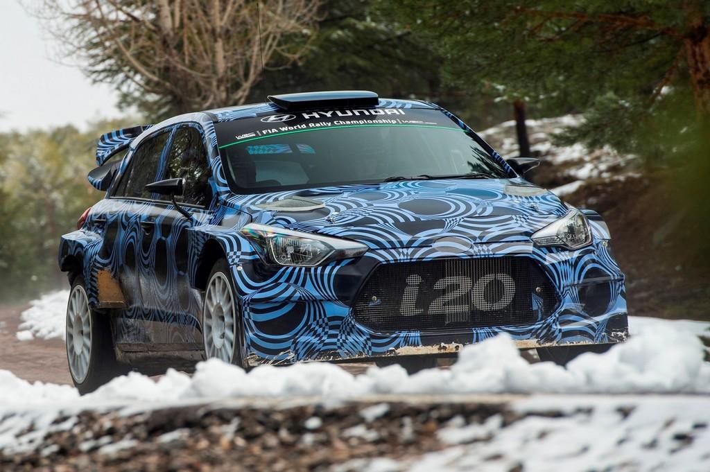 Hyunda i20 WRC