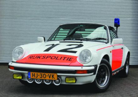 Porsche 911 3.0 SC Rijkspolitie Dutch Police 1982