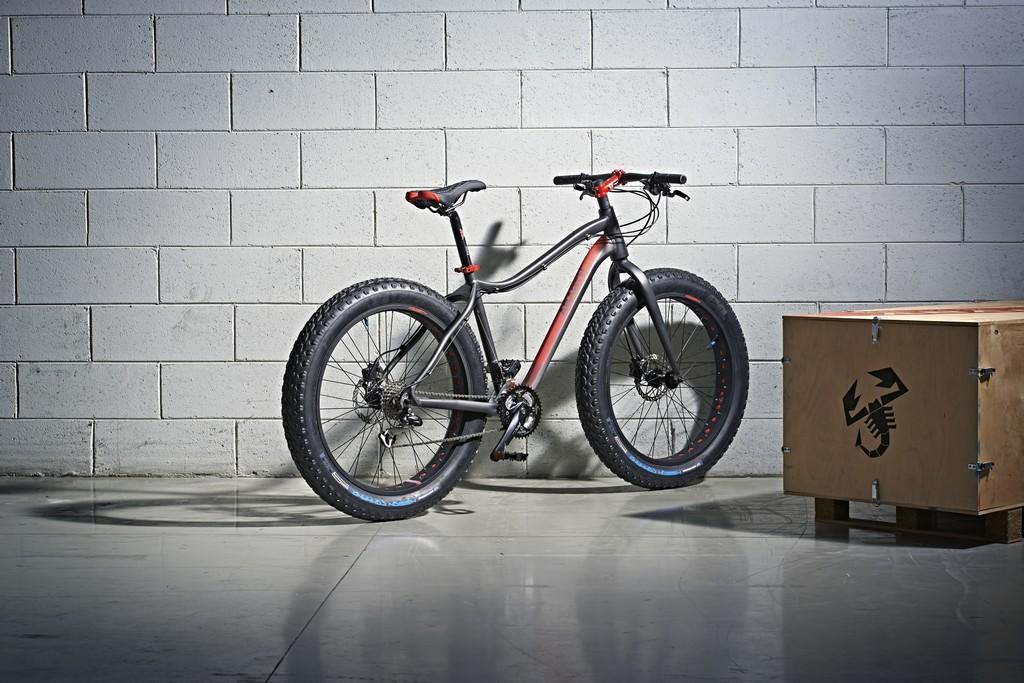 Abarth Extreme Fat Bike Tre Quarti Posteriore