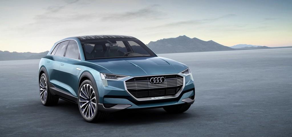 Audi e-tron quattro concept Tre Quarti