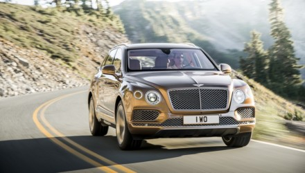 Bentley Bentayga Davanti Dinamica