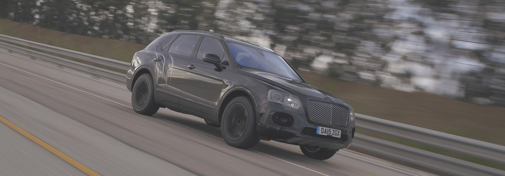 Bentley Bentayga Test
