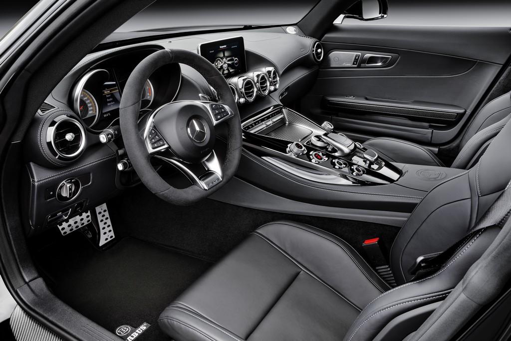 Brabur AMG GT S Interni