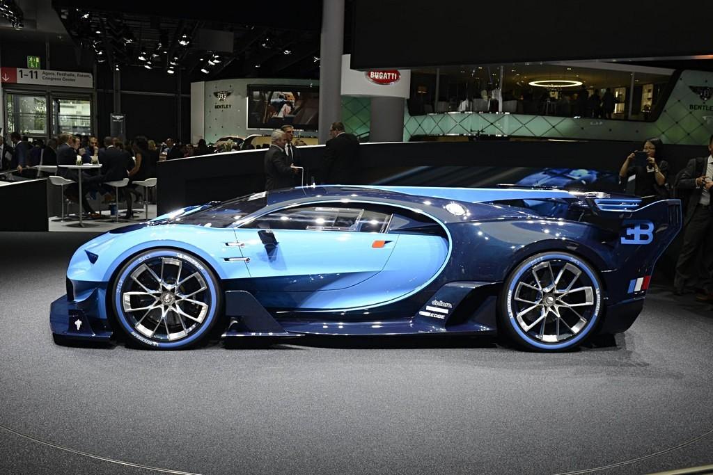 Bugatti Vision Gran Turismo Francoforte Lato