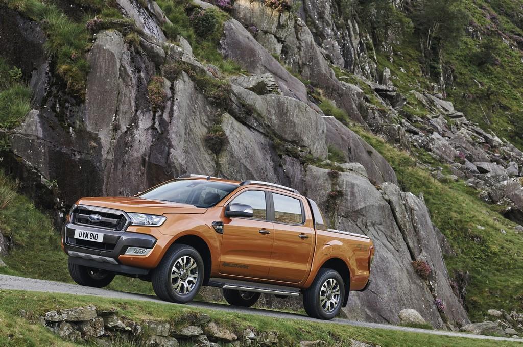 Ford Ranger Nuovo Lato Sinistro