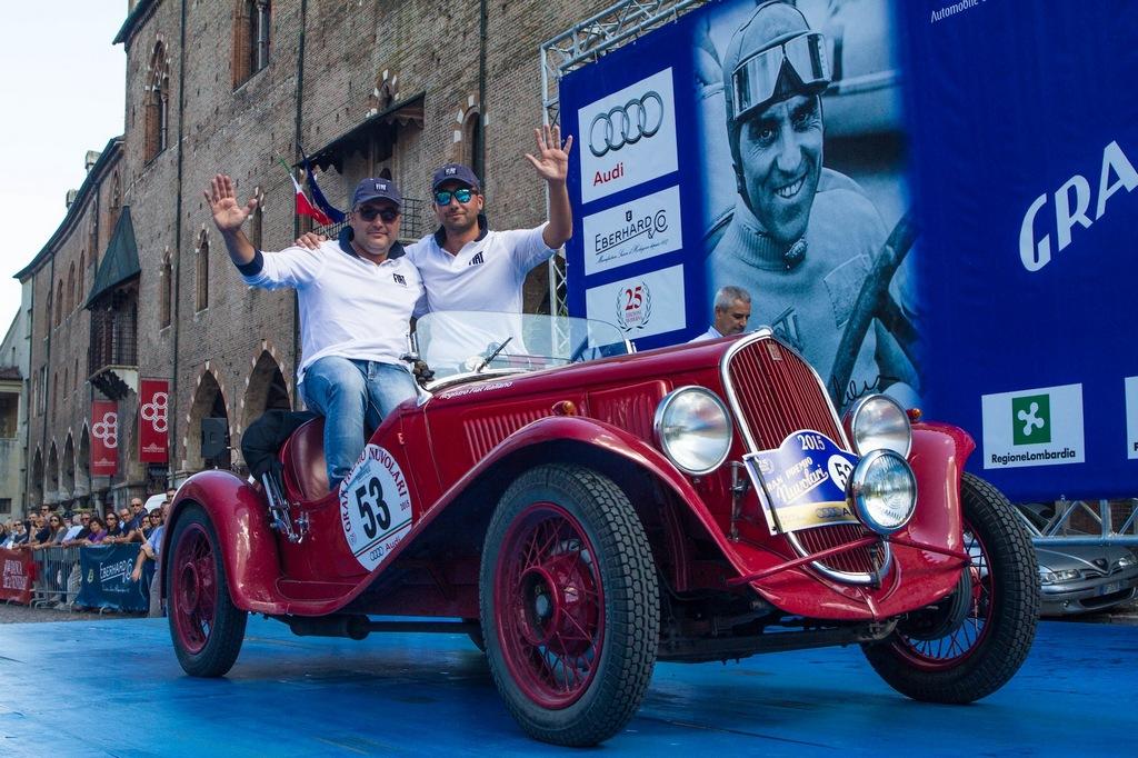 Gran Premio Nuvolari 2015 Vesco Guerini Fiat 508 S Balilla Sport