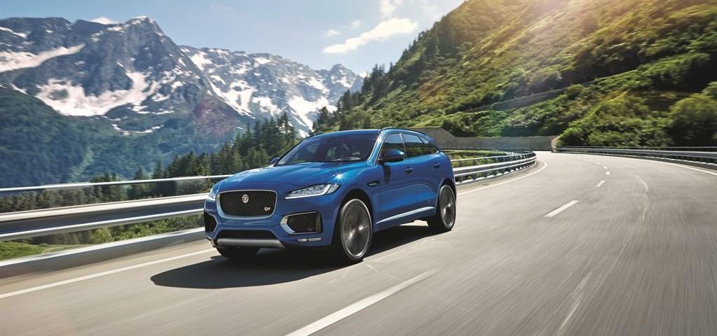 Jaguar F-Pace Blue Dinamica
