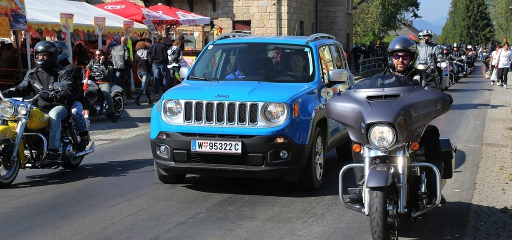 Jeep e Harley al Faaker See