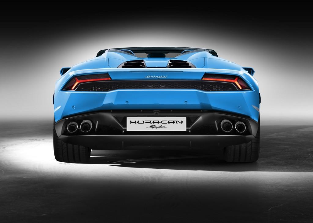 Lamborghini Huracan LP 610-4 Spyder Dietro