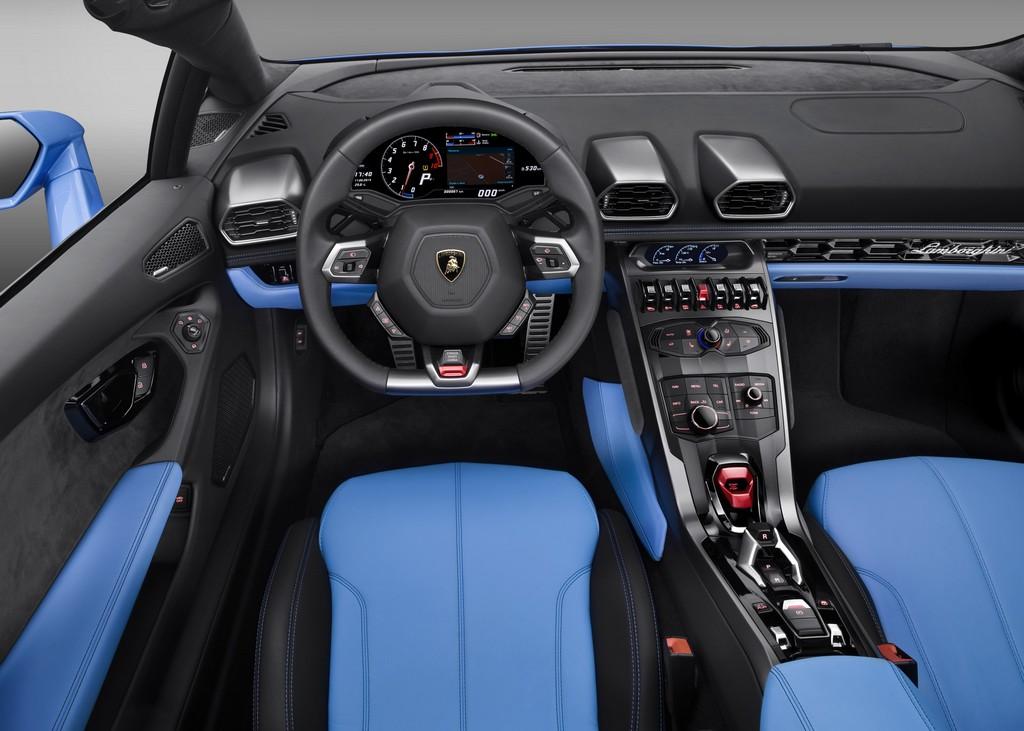 Lamborghini Huracan LP 610-4 Spyder Interni