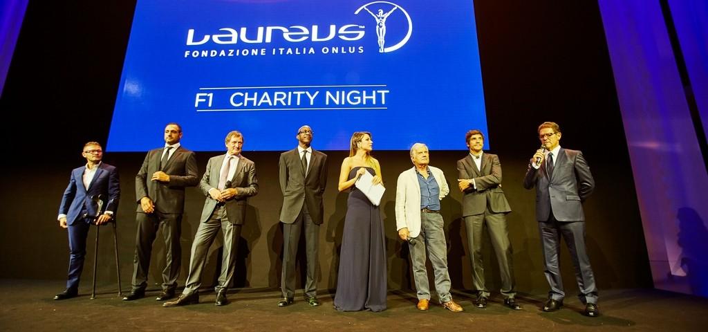 Laureus F1 Charity Night 2015