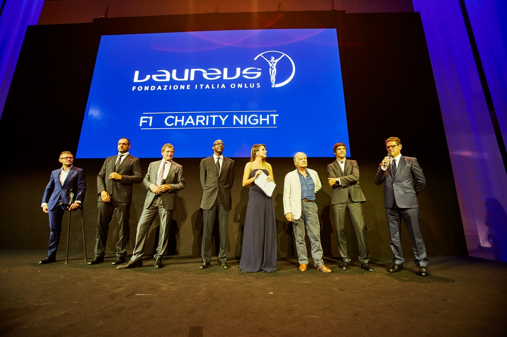 Laureus F1 Charity Night 2015