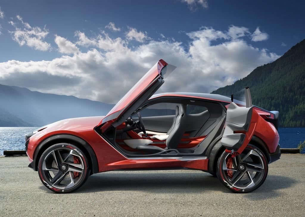 Nissan Gripz Concept Porte Aperte