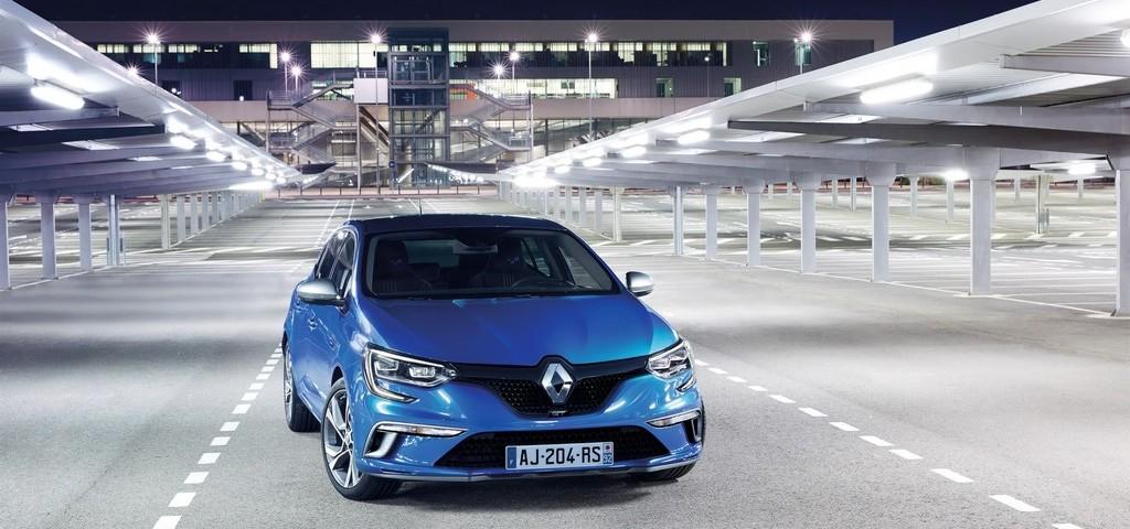 Renault nuova Megane GT