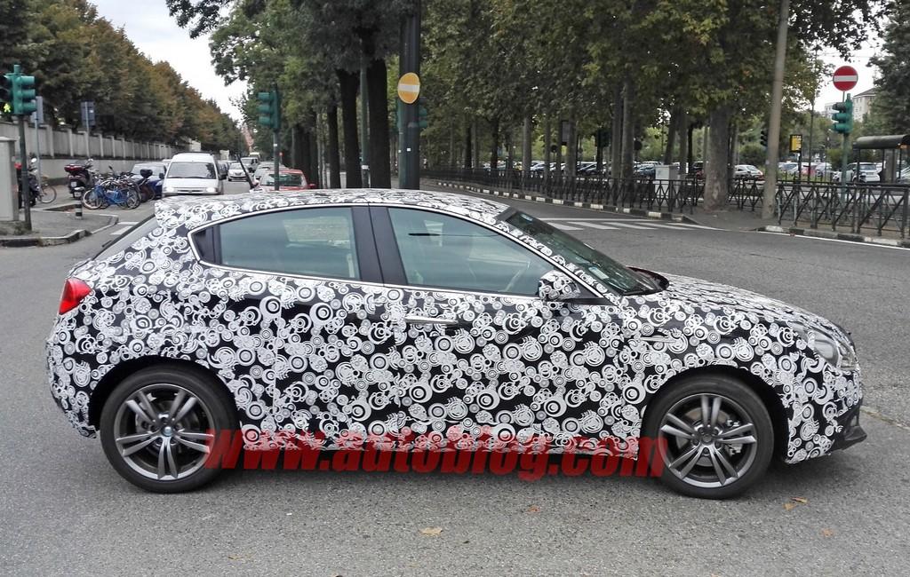 Alfa Romeo Giulietta Restyling Spiata Lato