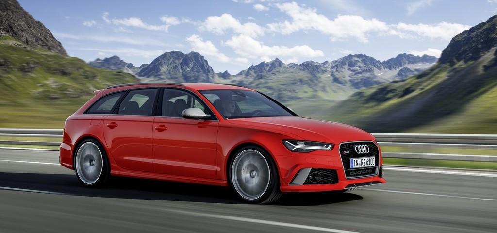 Audi RS 6 Avant Performance In strada
