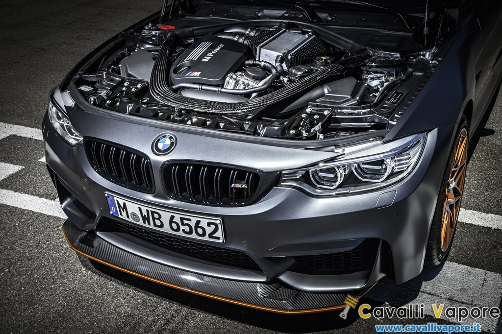 BMW M4 GTS Motore