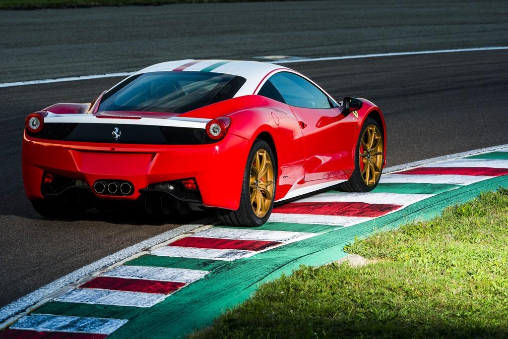Ferrari 458 Lauda Dietro