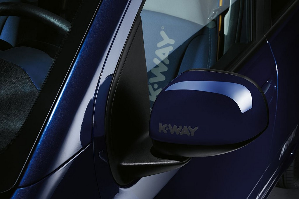 Fiat Panda K-Way Logo Specchietto