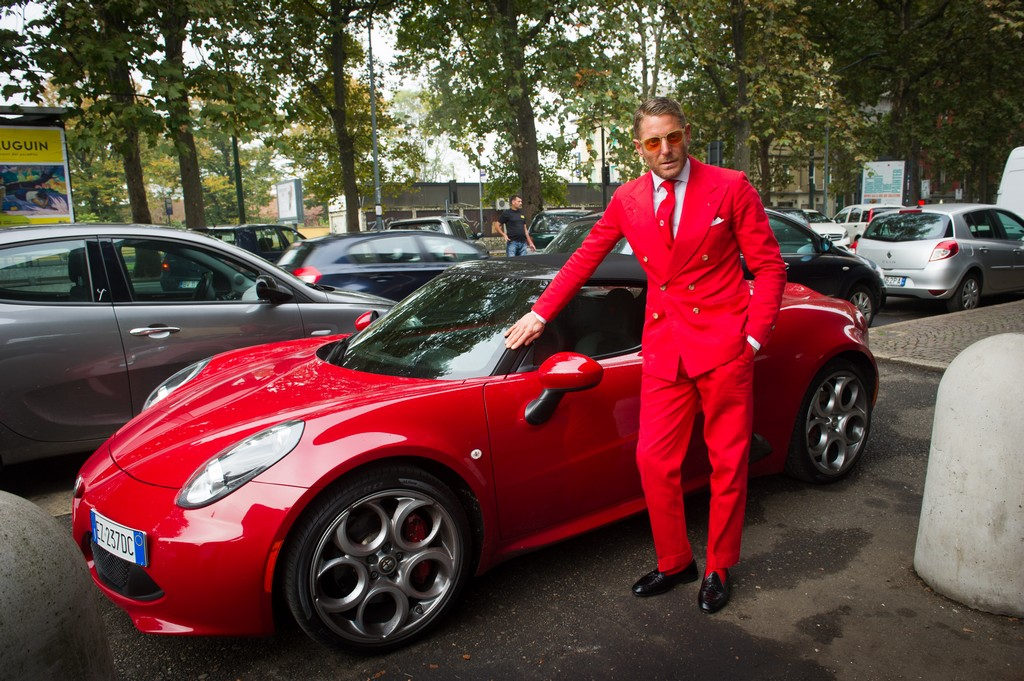 Garage Italia Customs Lapo Elkann Alfa Rome 4C Cabrio