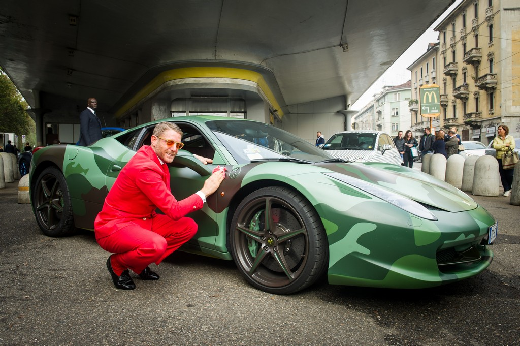 Garage Italia Customs Lapo Elkann Ferrari
