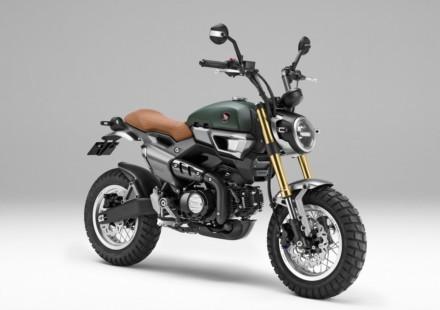 Honda Grom Scrambler Concept Due