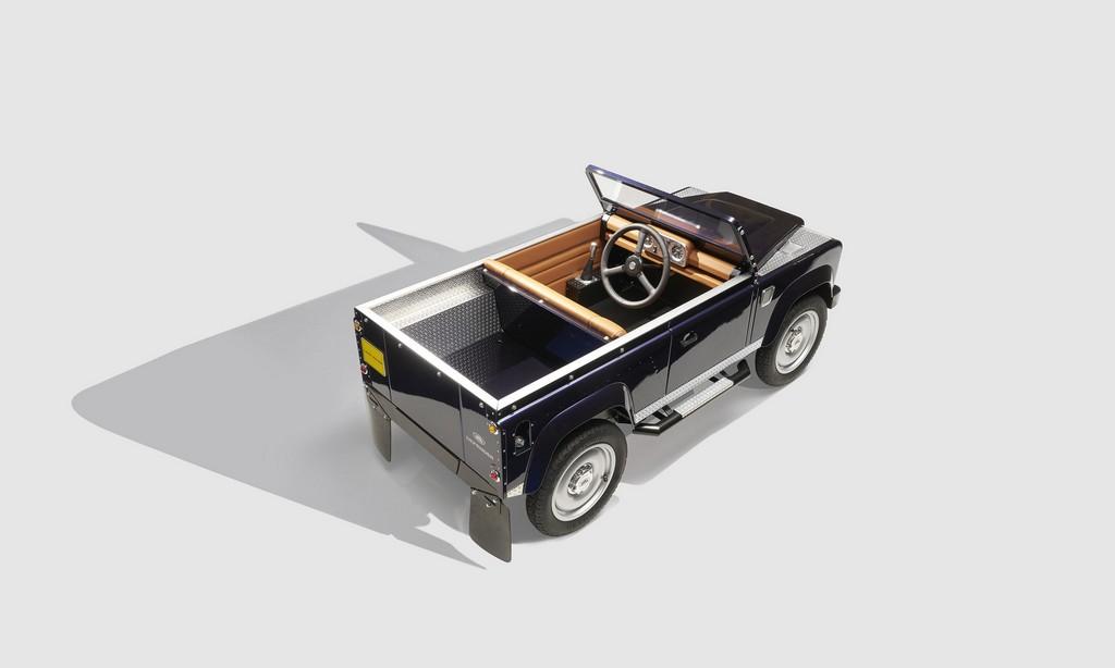 Land Rover Defender a Pedali Alto