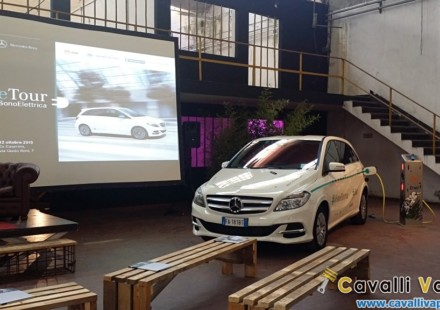Mercedes B Electric Drive eTour
