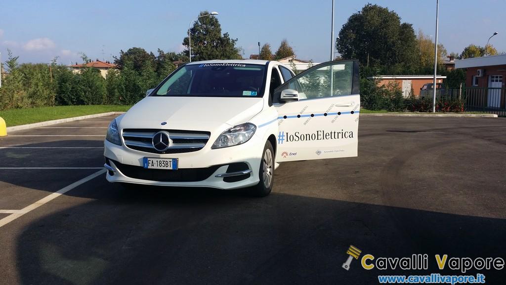 Mercedes Classe B Electric Drive Davanti Io Sono Elettrica
