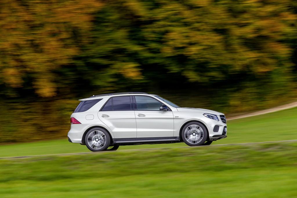 Mercedes GLE 450 AMG 4MATIC Lato