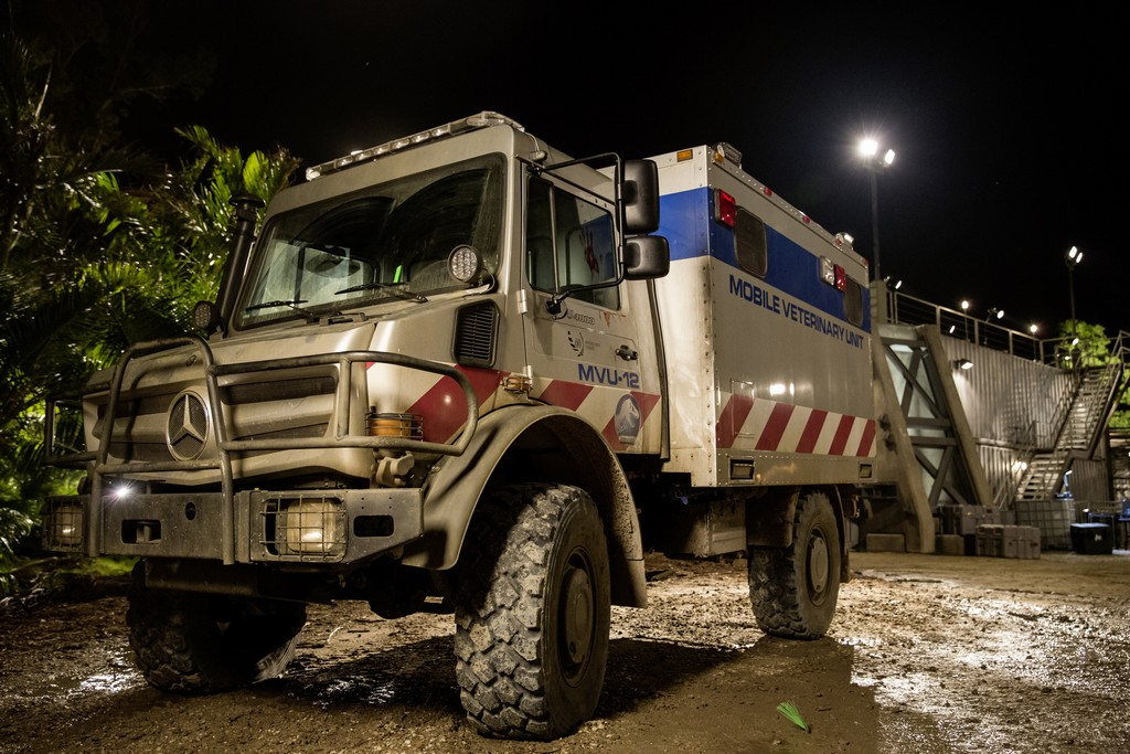 Mercedes Unimog Jurassic World