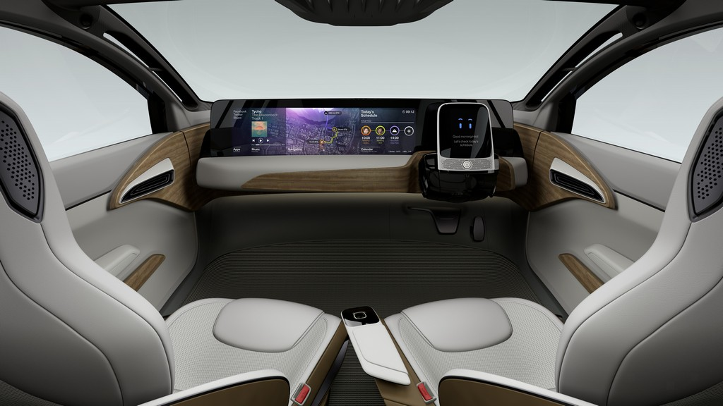 Nissan IDS Concept Quadro Strumenti
