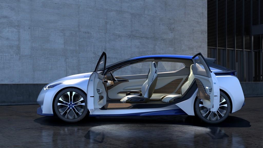 Nissan IDS Concept Porte Aperte