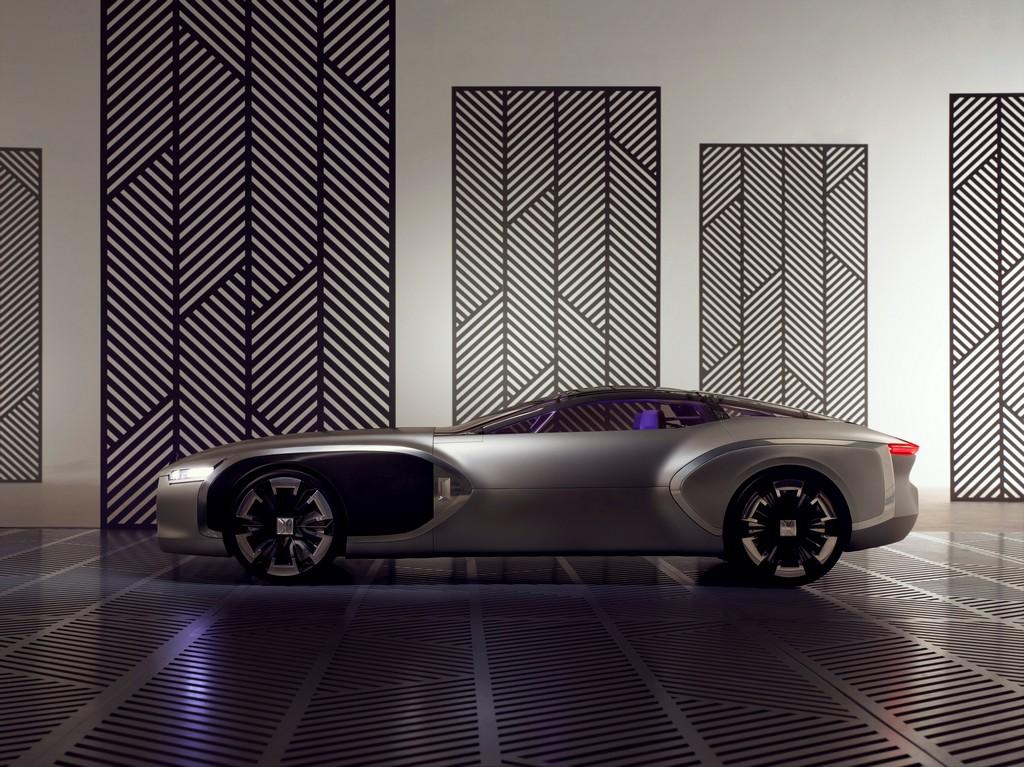 Renault Corbusier Coupe Concept Lato