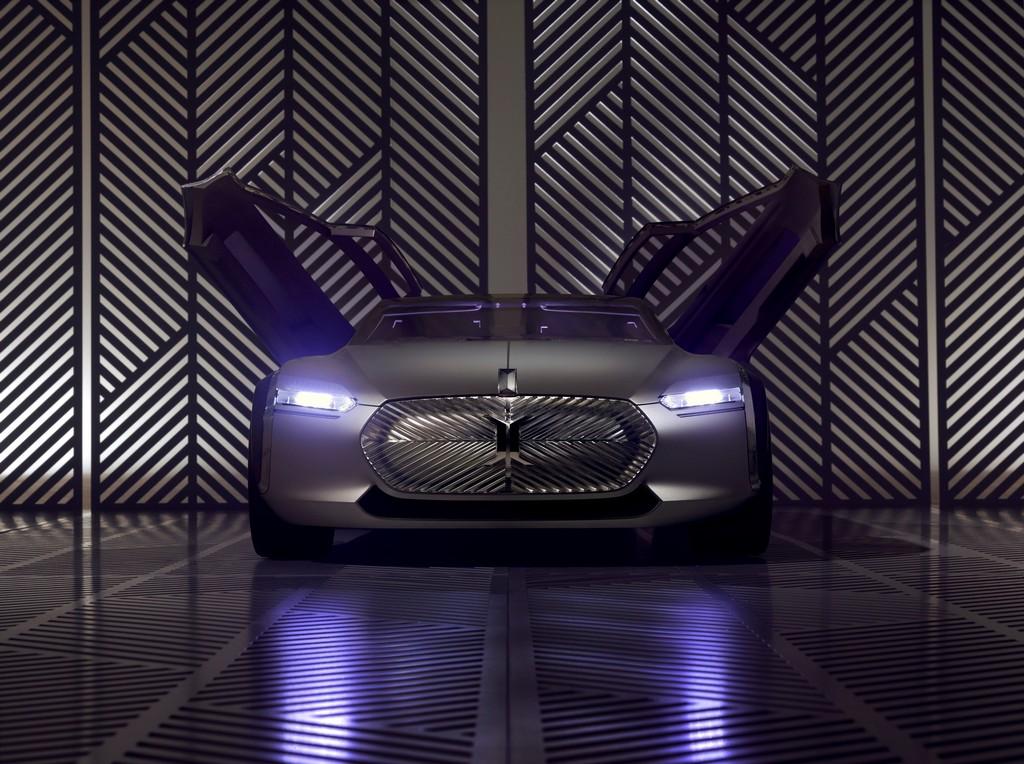 Renault Corbusier Coupe Concept Porte Aperte