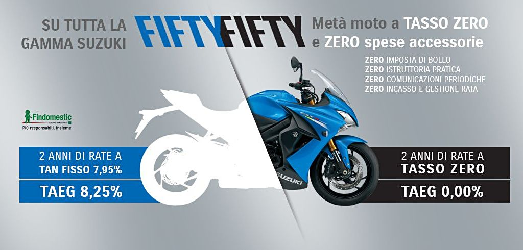 Suzuki Promo Fifty Fifty
