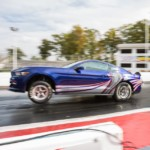 Ford Cobra Jet Mustang Lato Accelerazione