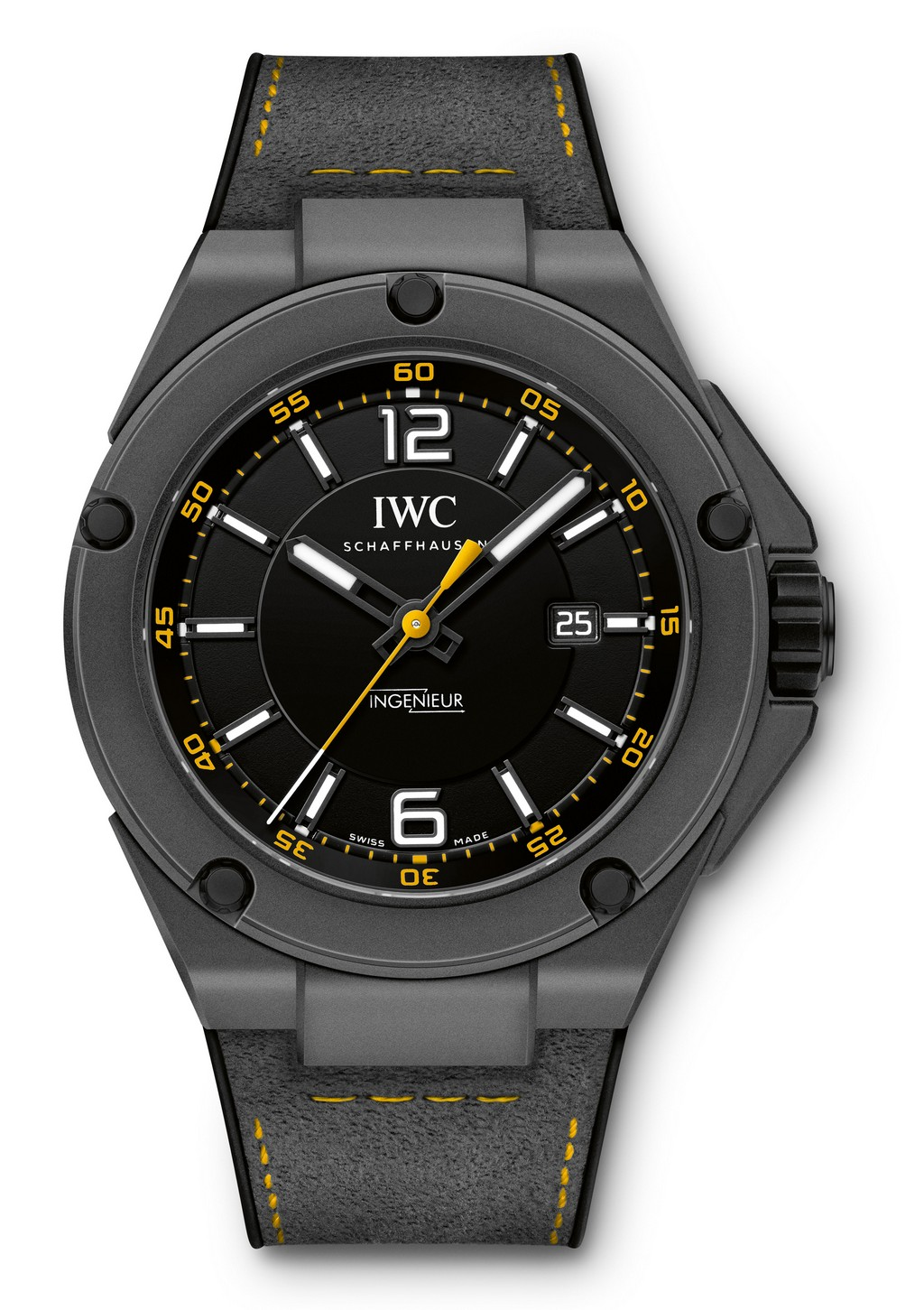 IWC Ingenieur Automatic AMG GT edition Quadrante