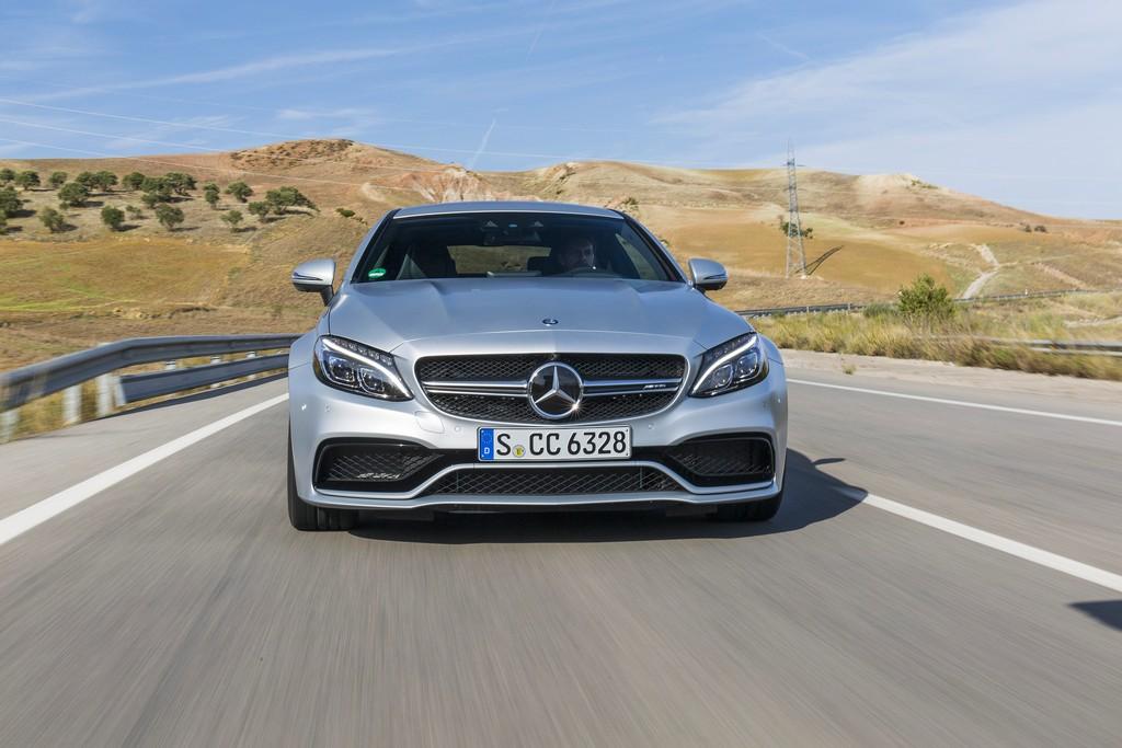 Mercedes nuova c coup dinamica ed elegante cavalli vapore - Mercedes classe c coupe amg ...