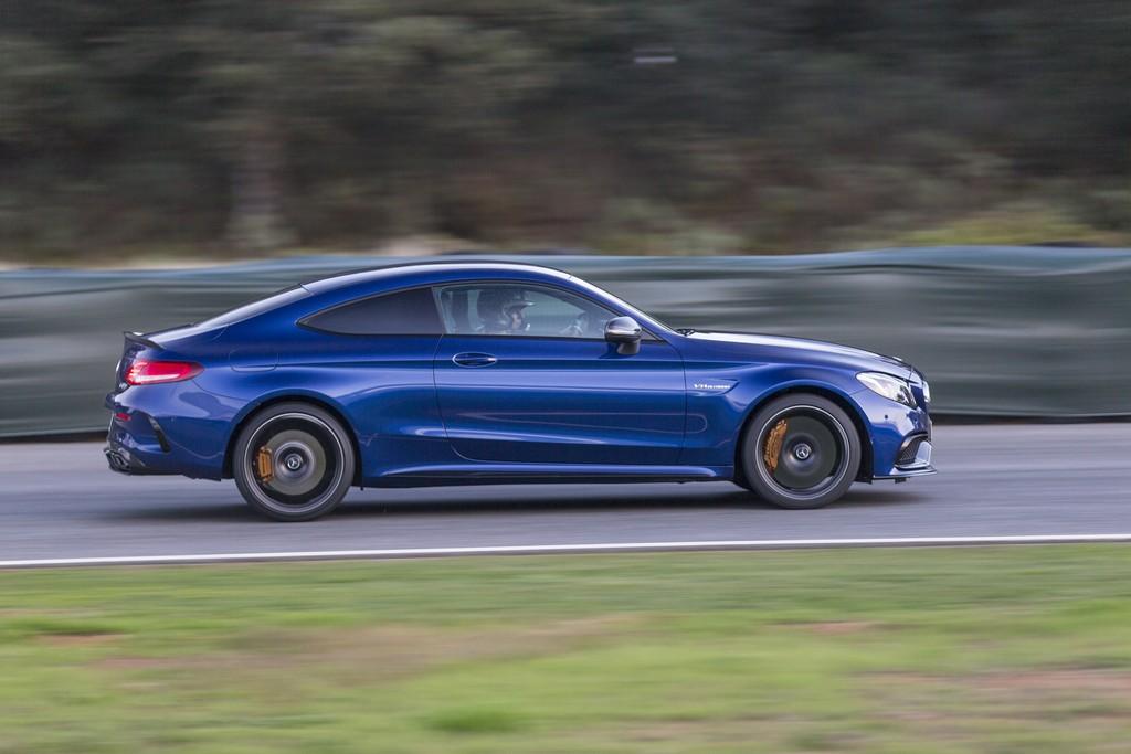 Mercedes Classe C Coupe AMG Lato Pista