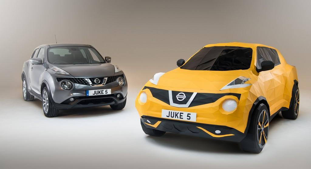 Nissan Juke Origami con Vera Juke